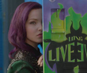 disney, green, and purple image