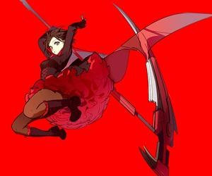 rwby and anime image