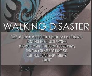 walking disaster, travis maddox, and book image