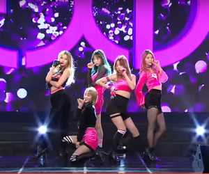hotpink, kpop, and exid image