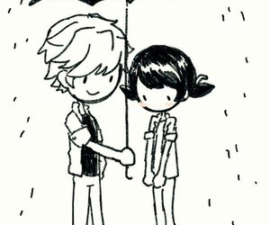 marinette, Adrien, and miraculous image