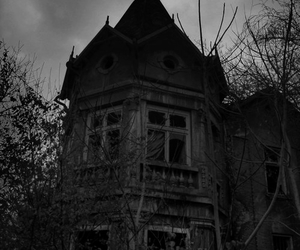 black, gothic, and house image