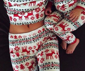 christmas, baby, and winter image