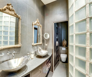 bath, bathroom, and decor image