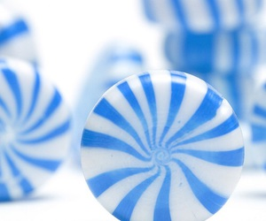 candy, blue, and peppermint image