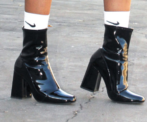 nike, black, and boots image