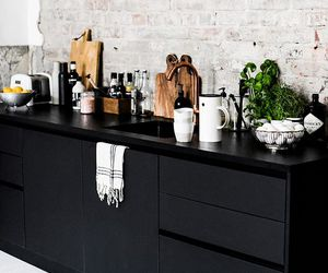 black, home, and kitchen image