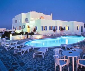 pool, Greece, and house image