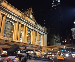 evening, grandcentral, and station image