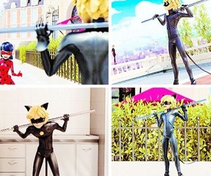 Adrien, Chat Noir, and Hot image