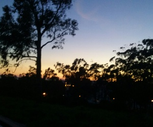 atardecer, color, and cool image
