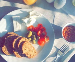 food, good, and morning image