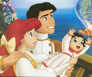 ariel, couple, and red hair image