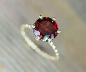 jewelry, ruby, and emerald image