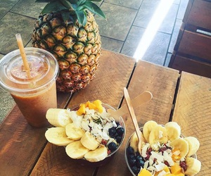 food, tumblr, and smoothie image