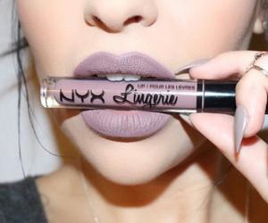 blush, lipstick, and style image