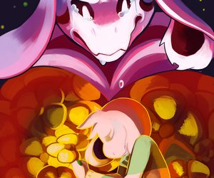 save, flowey, and undertale image