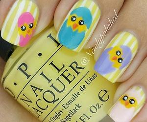 easter, nail art, and nails image