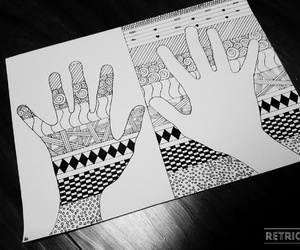 black, by, and hands image