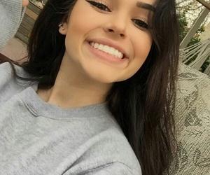 girl, maggie lindemann, and smile image