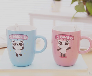 pink, cute, and blue image