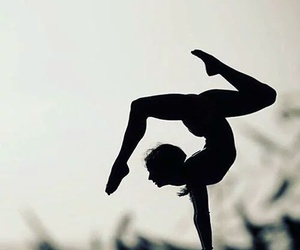 yoga, fit, and handstand image