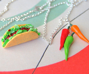 peppers, polymer clay, and spicy image
