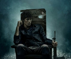 the 100, bellamy, and bob morley image