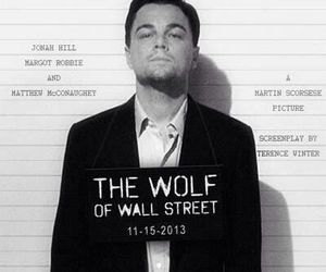 leonardo dicaprio, the wolf of wall street, and movie image