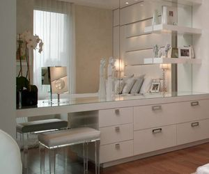 decor, decoration, and dressing table image
