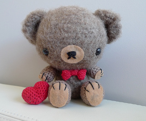 bear, cute, and crochet image