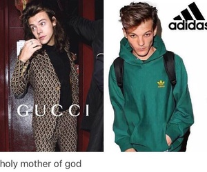 louis tomlinson, Harry Styles, and theme image