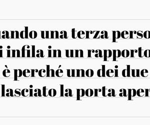 frasi italiane, frasi tumblr, and rapporti image