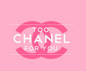wallpaper, chanel, and pink image