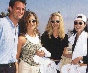 chandler, chandler bing, and courtney cox image