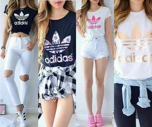 adidas, fashion, and moda image