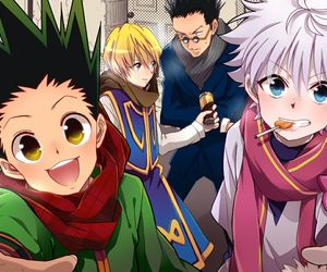 hunter x hunter, killua, and gon image