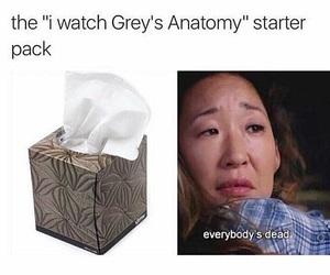 christina, grey, and greys anatomy image