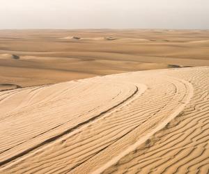 dunes, landscape, and peru image