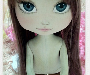 doll, handmade, and toys image