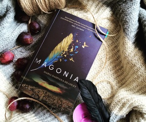 book, bookworm, and magonia image