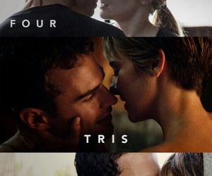 divergent, four, and insurgent image