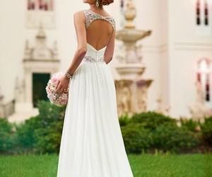 wedding dress and elegant image