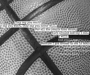 Basketball, hoops, and quote image