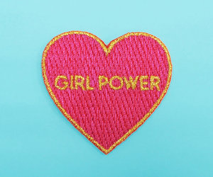girl power, girl, and power image