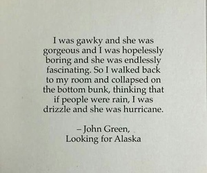 john green, looking for alaska, and book image