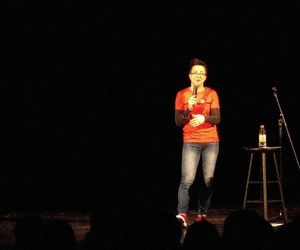 comedy, stand up, and stand up comedy image