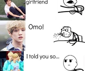 exo, funny, and luhan image