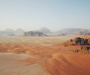 desert, sand, and destination image