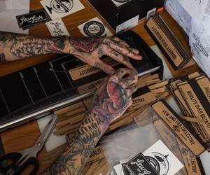 tattoo, ink, and alternative image